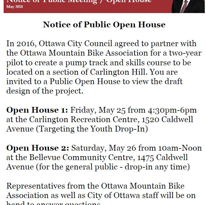 Open House: Carlington Bike Park
