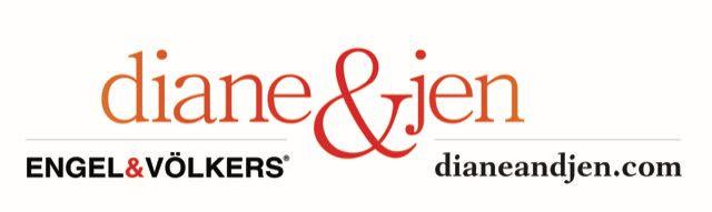 diane and jen real estate logo